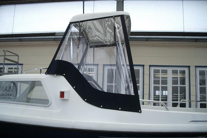 Bootsverdeck für Führerstand