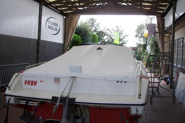 Cockpit Hafenpersenning aus Stamoid heavy cover