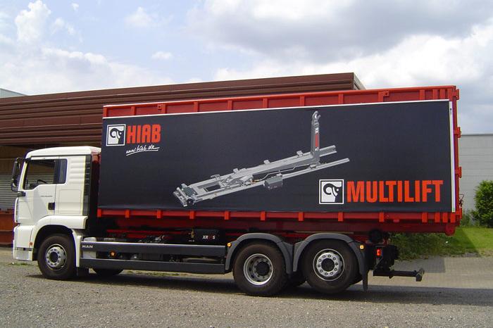 Beschriftung Truck-Ware