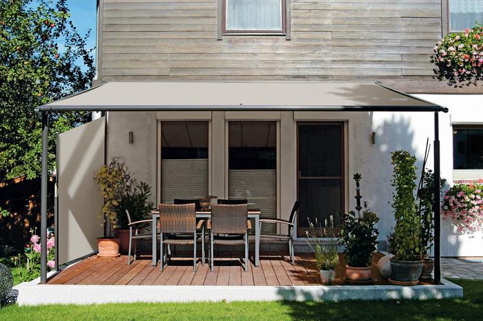 markilux pergola - Komfortabler Sonnenschutz für große Terrassen