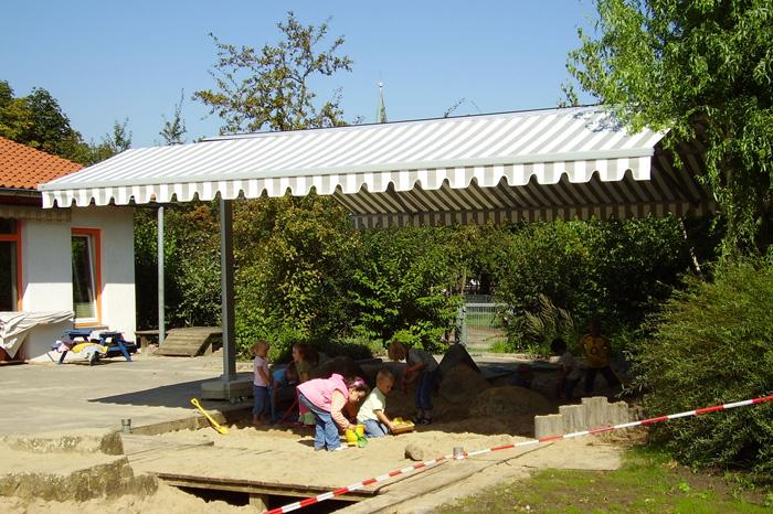 Gastro Sunrain in einem Kindergarten