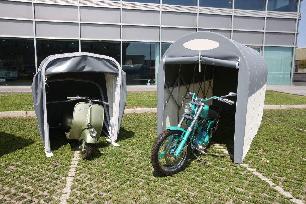 Planen m ller gmbh faltbare garagen f r motorr der for Garage per auto modulari 3