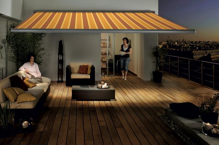 Balkon- und Terrassen-Markise