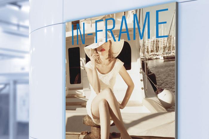 In-Frame Gummilippensysteme in-frame-slim
