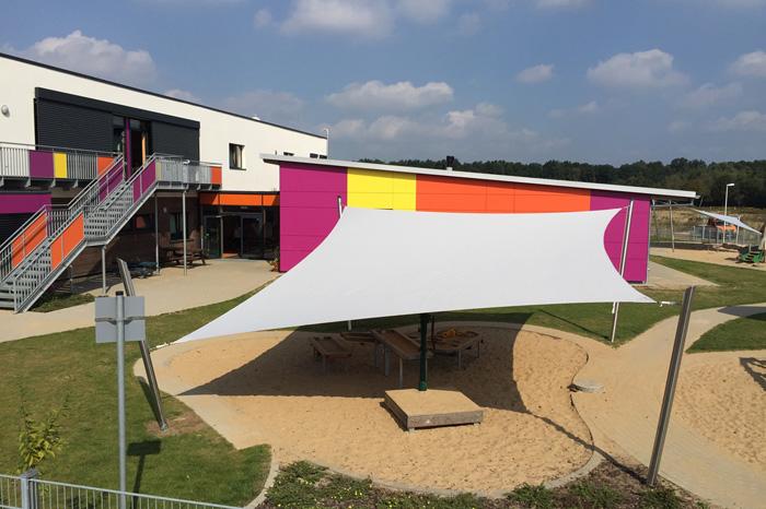 Segel Capemarine - Sonnenschutz für Kindergarten