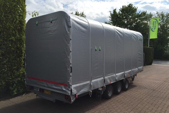 Intenda Schiebegestell centinascorrevole für PKW-Transport-Anhänger