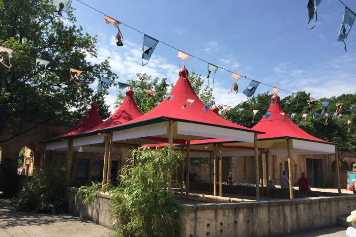 Paviliondächer aus Yachtmaster-354 Zoo Hannover