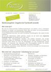 Stellenausschreibung Fachkraft 2020-12-04